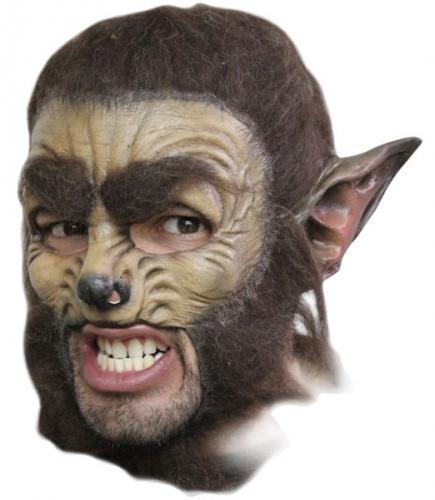 Weerwolf masker deluxe
