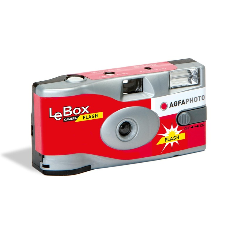 Wegwerp camera met 27 fotos