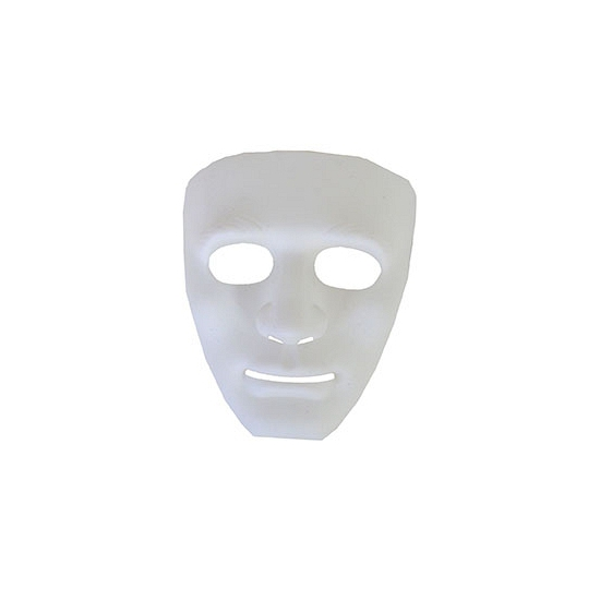 Wit geesten masker