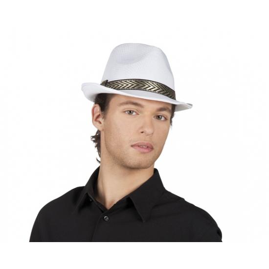 Wit hoedje voor volwassenen