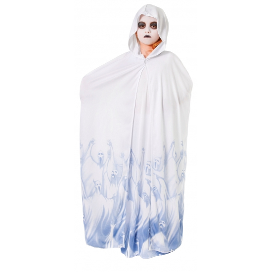 Wit met blauwe spoken outfit voor meiden