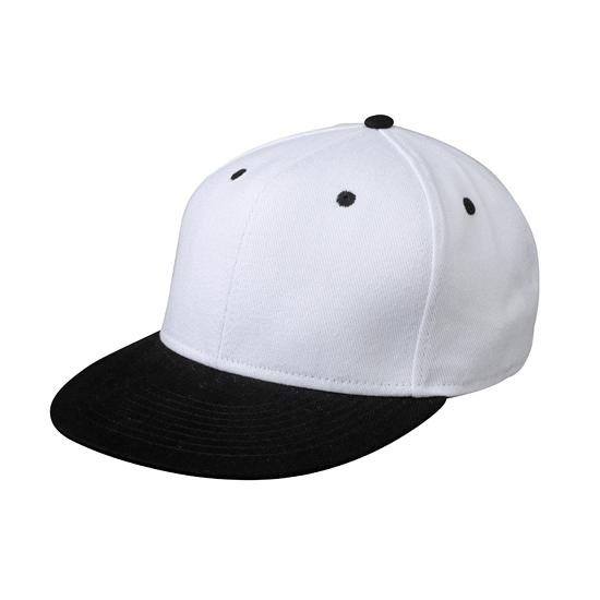 Wit zwarte baseball cap voor volwassenen