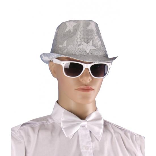 Witte accessoires set