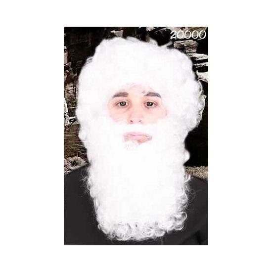 Witte dwerg baard met snor