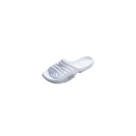 Witte zwembad slippers voor dames