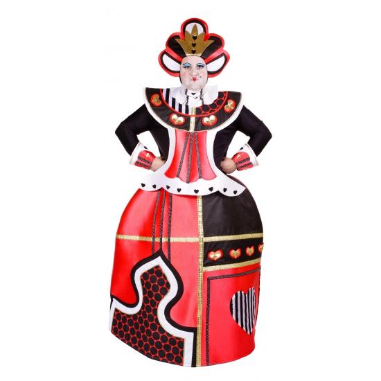 Wonderland Koningin kostuum