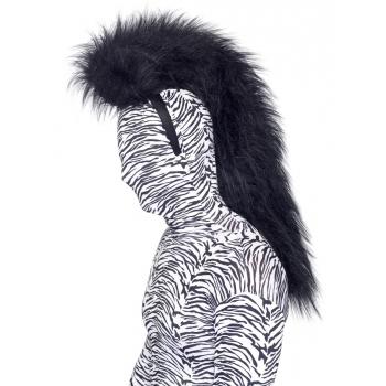 Zebra manen op een haarband