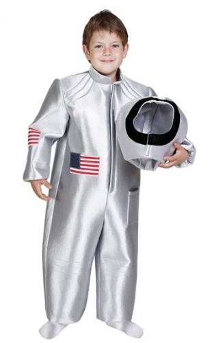 Zilveren ruimtepakken voor kinderen