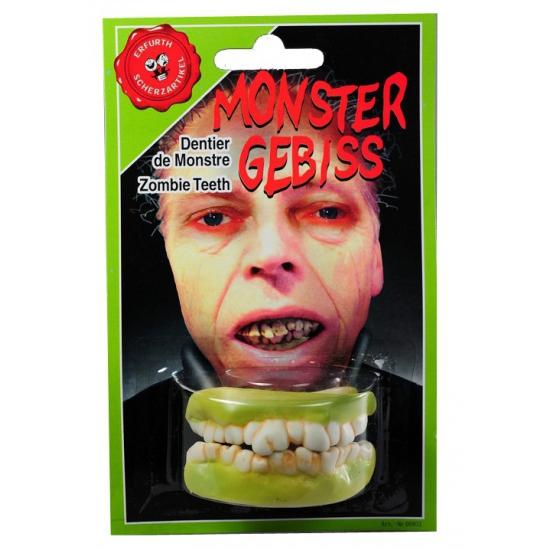 Zombie tanden boven en onder