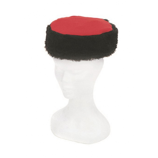 Zwart met rode Russische Kozak