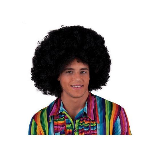 Zwarte afro pruiken