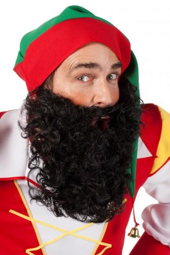 Zwarte baard voor volwassenen