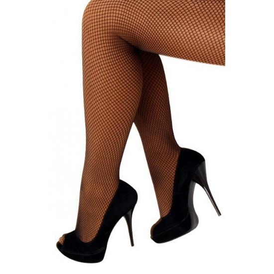 Zwarte carnavals panty
