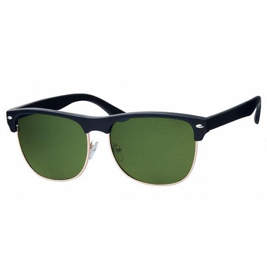 Zwarte Clubmaster bril