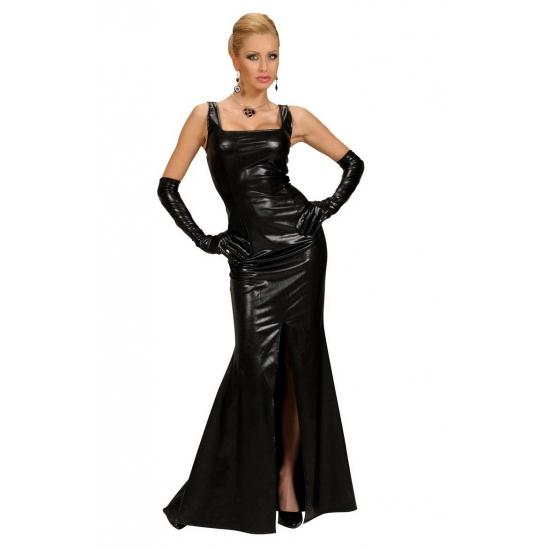 Zwarte gala jurk voor dames