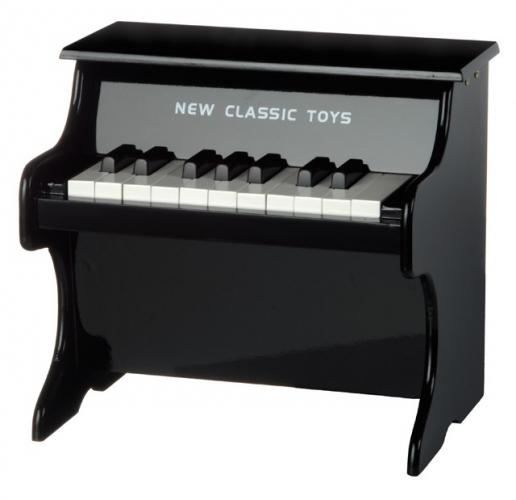 Zwarte kinder piano met 18 tonen