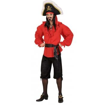 Zwarte knie broek piraten