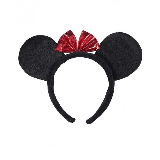 Zwarte muizen oren haarband