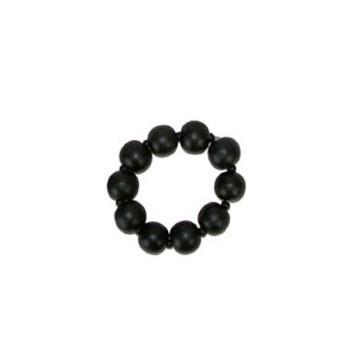 Zwarte parel armband