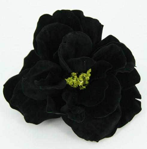 Zwarte roos clip