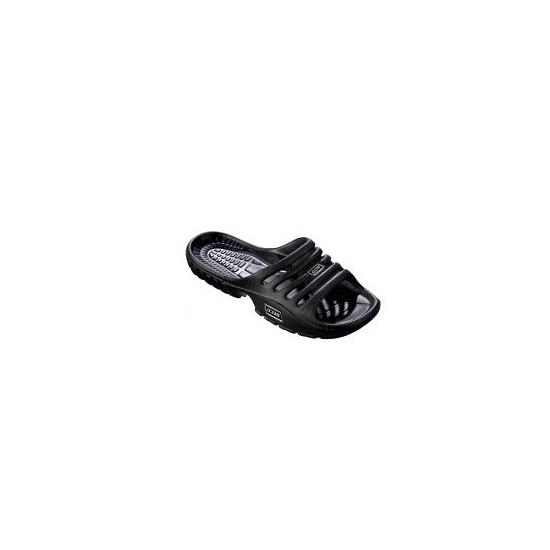 Zwarte zwembad slippers voor dames
