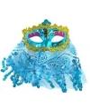 Arabisch oogmasker turquoise