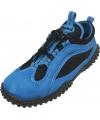 Blauw met zwarte waterschoenen voor volwassenen