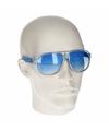 Blauwe retro zonnebril type 0176