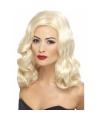 Blonde jaren 20 damespruik