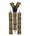 Bretels met gekleurde stippen
