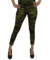 Camouflage legging voor dames