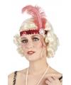 Charleston hoofdband rood