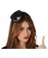 Diadeem met mini politie petje