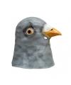 Dierenmasker duif van latex