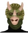 Dinosaurus triceratops masker