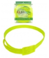 Disco blacklight riem neon geel