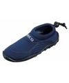 Donkerblauwe neopreen surf en waterschoen voor kinderen