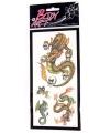 Draken plak tatoeages type 1