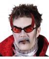 Duivel bril met rode glazen