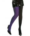 Duo panty voor dames zwart en paars