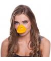 Eend dierenneus masker voor volwassenen