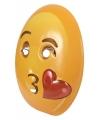 Emoticon masker kusje