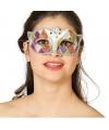 Gekleurd oogmasker met glitters