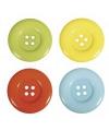 Gekleurde knopen 8 stuks