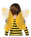 Gele vlinder vleugels voor kinderen