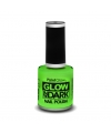 Glow in the dark nagellak neon groen