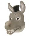 Grijs ezel masker donkey