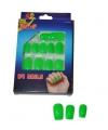Groene neon nepnagels