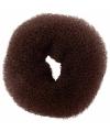 Haaraccessoire knotrol 10 cm bruin