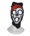 Halloween bivakmuts met piraten schedel